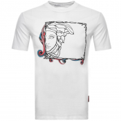 Versace Collection Medusa Logo T Shirt White