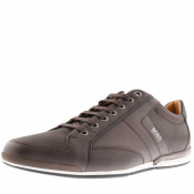 Product Image for BOSS HUGO BOSS Saturn Lowp Trainers Brown