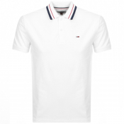 Product Image for Tommy Jeans Classic Polo T Shirt White