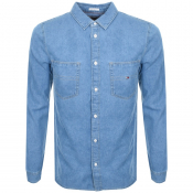 Product Image for Tommy Jeans Classic Denim Shirt Blue