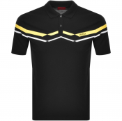 Product Image for HUGO Dapporo Polo T Shirt Black