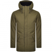 Levis Thermore Padded Parka Jacket Green