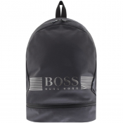 BOSS HUGO BOSS Pixel Backpack Grey