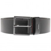 HUGO Giove Leather Belt Black