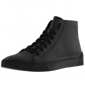 HUGO Zero Hito Hi Top Trainers Black