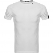 Replay Logo Crew Neck T Shirt White