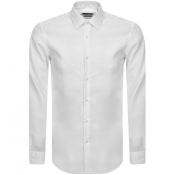 Product Image for BOSS HUGO BOSS Slim Fit Isko Shirt White