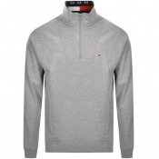 Product Image for Tommy Jeans Half Zip Sweatshirt Grey
