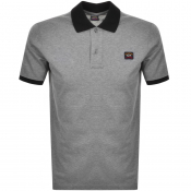 Product Image for Paul And Shark Short Sleeved Polo T Shirt Grey
