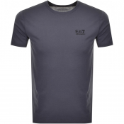 Product Image for EA7 Emporio Armani Core ID Crew Neck T Shirt Blue