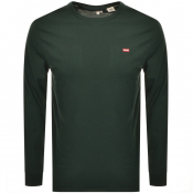 Product Image for Levis Original Long Sleeve Logo T Shirt Green