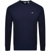Product Image for Levis Crew Neck Sweatshirt Navy