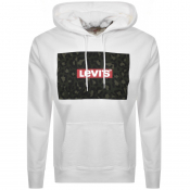 Product Image for Levis Graphic Logo Hoodie White