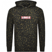 Product Image for Levis Pullover Camouflage Hoodie Green