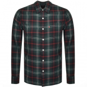 Product Image for Levis Jackson One Pocket Check Shirt Green