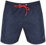 Paul And Shark Swim Shorts Navy