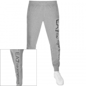 EA7 Emporio Armani Logo Jogging Bottoms Grey