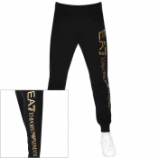 Product Image for EA7 Emporio Armani Logo Jogging Bottoms Black