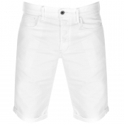 Product Image for G Star Raw 3301 Denim Shorts White