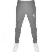 Product Image for Armani Exchange Logo Jogging Bottoms Grey