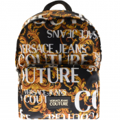 Versace Jeans Couture Baroque Backpack Black