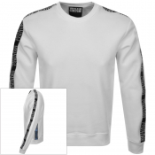 Product Image for Versace Jeans Couture Crew Neck Sweatshirt White