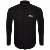 Versace Jeans Couture Long Sleeved Shirt Black