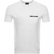 Emporio Armani Pocket Logo T Shirt White