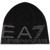 Product Image for EA7 Emporio Armani Beanie Hat Black