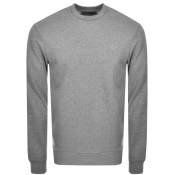 Product Image for Emporio Armani Crew Neck Sweatshirt Grey