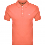 Product Image for Michael Kors Sleek Polo T Shirt Orange