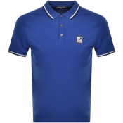 Product Image for Michael Kors New Logo Polo T Shirt Blue