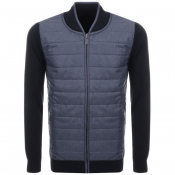 Product Image for Barbour International Baffle Jumper Navy