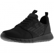 Product Image for EA7 Emporio Armani Logo Trainers Black