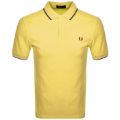 Product Image for Fred Perry Twin Tipped Polo T Shirt Yellow