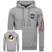 Product Image for Alpha Industries Space Shuttle Hoodie Grey