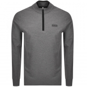 Barbour International Half Zip Sweatshirt Grey