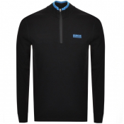 Product Image for Barbour International Half Zip Sweatshirt Black