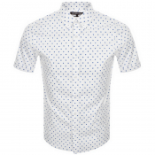 Product Image for Michael Kors Short Sleeved Slim Fit Shirt White