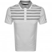 Product Image for Michael Kors Yoke Stripe Polo T Shirt White