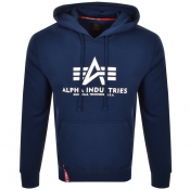 Alpha Industries Basic Hoodie Navy