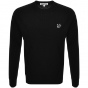 Product Image for MCQ Alexander McQueen Swallow Knit Jumper Black