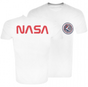 Alpha Industries Apollo 15 T Shirt White