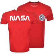 Product Image for Alpha Industries Apollo 15 T Shirt Red