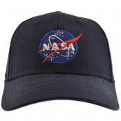 Alpha Industries NASA Cap Blue