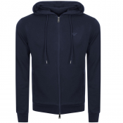 Product Image for Emporio Armani Full Zip Hoodie Blue