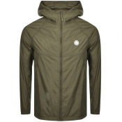 Product Image for Pretty Green Lightweight Hooded Jacket Khaki