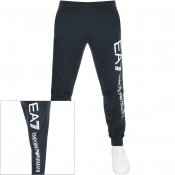 Product Image for EA7 Emporio Armani Logo Jogging Bottoms Navy