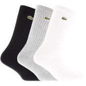 Product Image for Lacoste Sport Three Pack Socks Grey