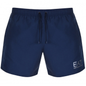 EA7 Emporio Armani Sea World Swim Shorts Navy